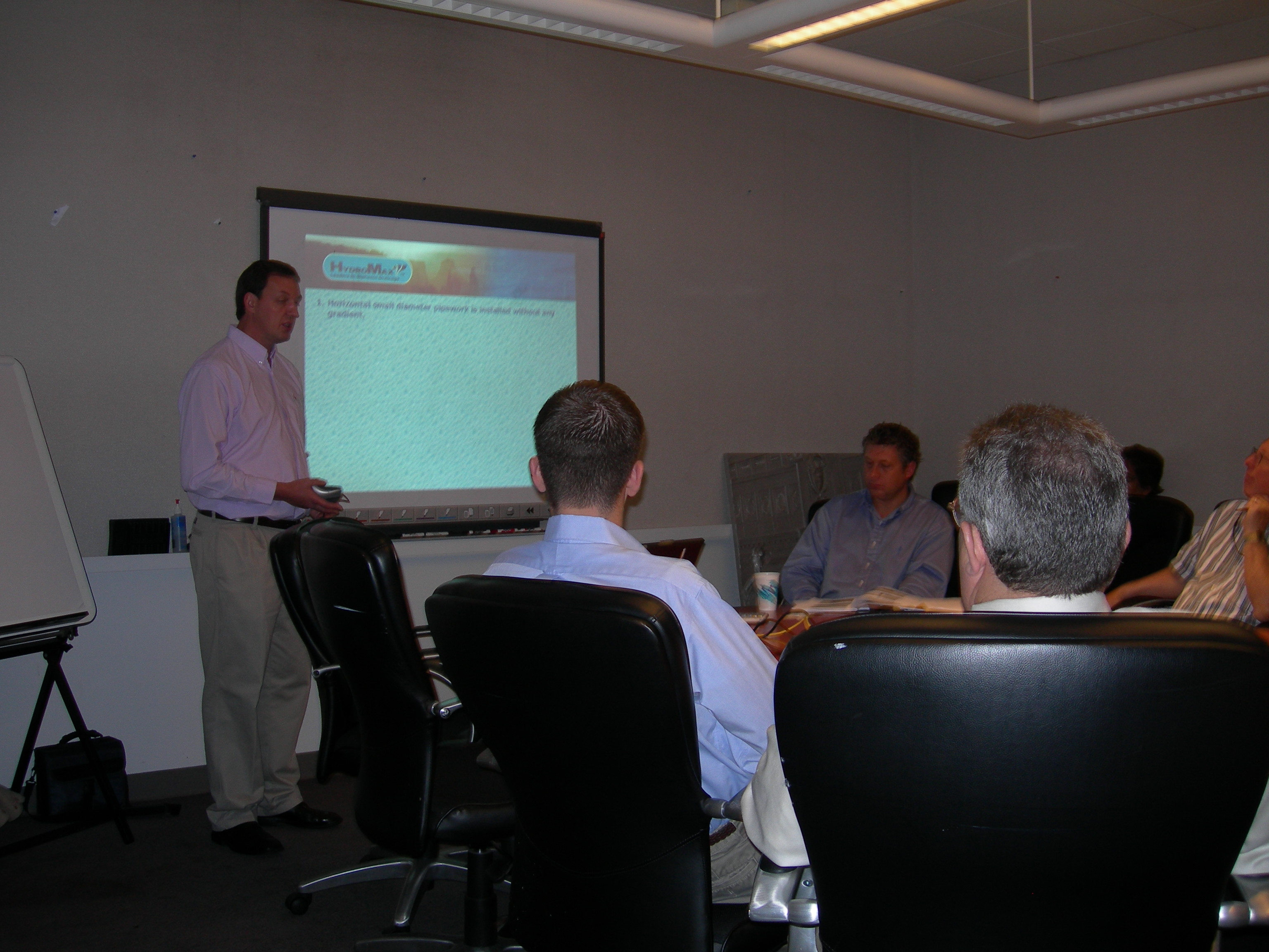Training at Cosentini Associates, New York